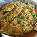 花まさ - 料理写真:天津丼