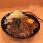 73235746 - 【ハーフ&ハーフ丼・並】(800円税込)
