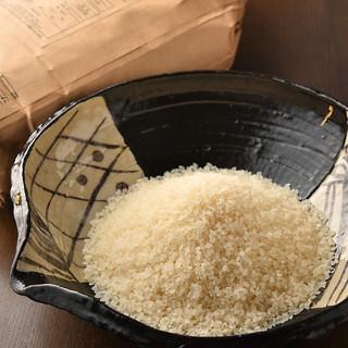 生産者がみえる、こだわりの野菜やお米。