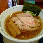 ぶっとび亭 - あっさりこいくち 煮干し中華そば [¥740]