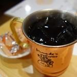 73238683 - 金のアイスコーヒー