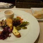 トラットリア チェーロ - 前菜