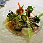 73240354 - 前菜:野菜盛り