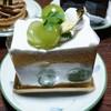 フロ プレステージュ - 料理写真:季節のスペシャルショートケーキ シャインマスカット 584円