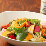 POLPO吉祥寺Seafood Market - 自家製ドレッシングの15品目サラダ