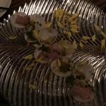 AWkitchen TOKYO - カブのカルパッチョ(魚はカンパチ)