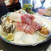 西村食堂 - 料理写真:造り定食の刺身盛り(二人前)