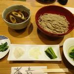 十割舞そば 忠庵 - 鴨汁セット ¥1,290