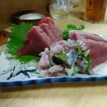 魚せい - 料理写真:常連さんが撮影させて下さった鰹