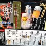 回転割烹 寿司御殿 - メニュー4 2017/07/29