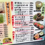 回転割烹 寿司御殿 - メニュー6 2017/07/29