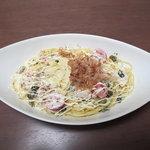 7325271 - とろとろ湯葉とササミと高菜のマヨネーズソース