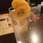 天ぷら酒場 天ぷら Y - ゴールデンキウイのサワー