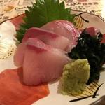 天ぷら酒場 天ぷら Y - 愛媛県愛南町のハマチ