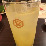 天ぷら酒場 天ぷら Y - 愛南ゴールドのサワー