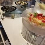 ヘルシービュッフェ アマム - オサレな食べ物たち