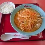 くるまやラーメン - 料理写真:ねぎ味噌ラーメン 820円