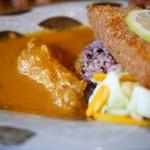 森林食堂 - 料理写真:長期熟成鶏チキンカレー