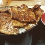 ぶた福 - バラ豚丼