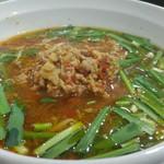 台湾ラーメン 味世 - 台湾ラーメンハーフ