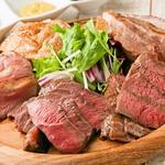 肉盛り 牛もつ鍋 時々ハレ酒場 HALU - 肉グリル盛り!女性グループにも大人気!