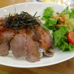 山と海with日本海牧場 - 料理写真:ローストビーフ丼