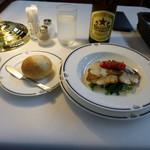 トレインレストラン日本食堂 - 真鯛のポワレ白ワインのクリームソース
