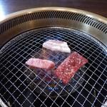 とがし肉家 - ロースター
