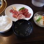とがし肉家 - カルビ定食(ランチ)