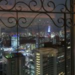 73258210 - 窓からの夜景