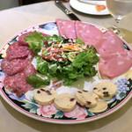 ピッツォランテ スパッカ ナポリ - 前菜盛り合せ