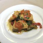 ピッツォランテ スパッカ ナポリ - 白身魚のフライ
