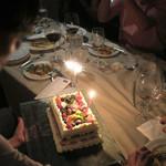 ピッツォランテ スパッカ ナポリ - Happy Birthday〜♬
