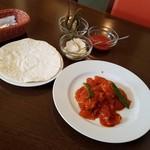 ロシータ - 料理写真:C「メキシカンポイヨ&タコスランチ」