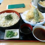 大黒屋 - 料理写真:「天ざるうどん」850円