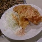 新京 - 小皿セットの鶏唐揚げ