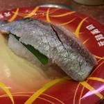 元禄寿司 - 元禄寿司 本店(大阪府東大阪市足代)大いわし 125円