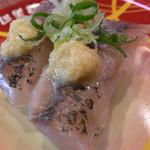 元禄寿司 - 元禄寿司 本店(大阪府東大阪市足代)アジ