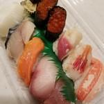 海転寿司シーランド - 料理写真:竹 1404円