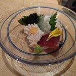 鮮魚と郷土料理の店 たつと - 鱧湯引き