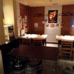 鮮魚と郷土料理の店 たつと - 間接照明の店内