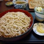 信濃江 - 料理写真:天ざる蕎麦