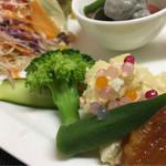 花咲 - 料理写真:あいづ食の陣・会津トマトのランチ