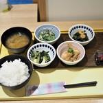 京菜味のむら - 朝食おばんざいセット