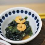 京菜味のむら - 青梗菜のオイスター炒め煮