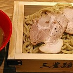 三豊麺 極 - 【味玉 濃厚魚介つけ麺】¥950