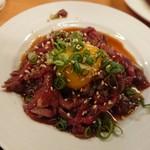 韓国屋台料理 とらじ - ユッケ