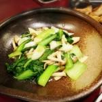 73262917 - ★チンゲン菜と木の子の天然塩炒め