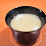 祇園 大渡 - コロの袱紗味噌椀