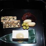茶菓円山 - 料理写真:茶菓色々